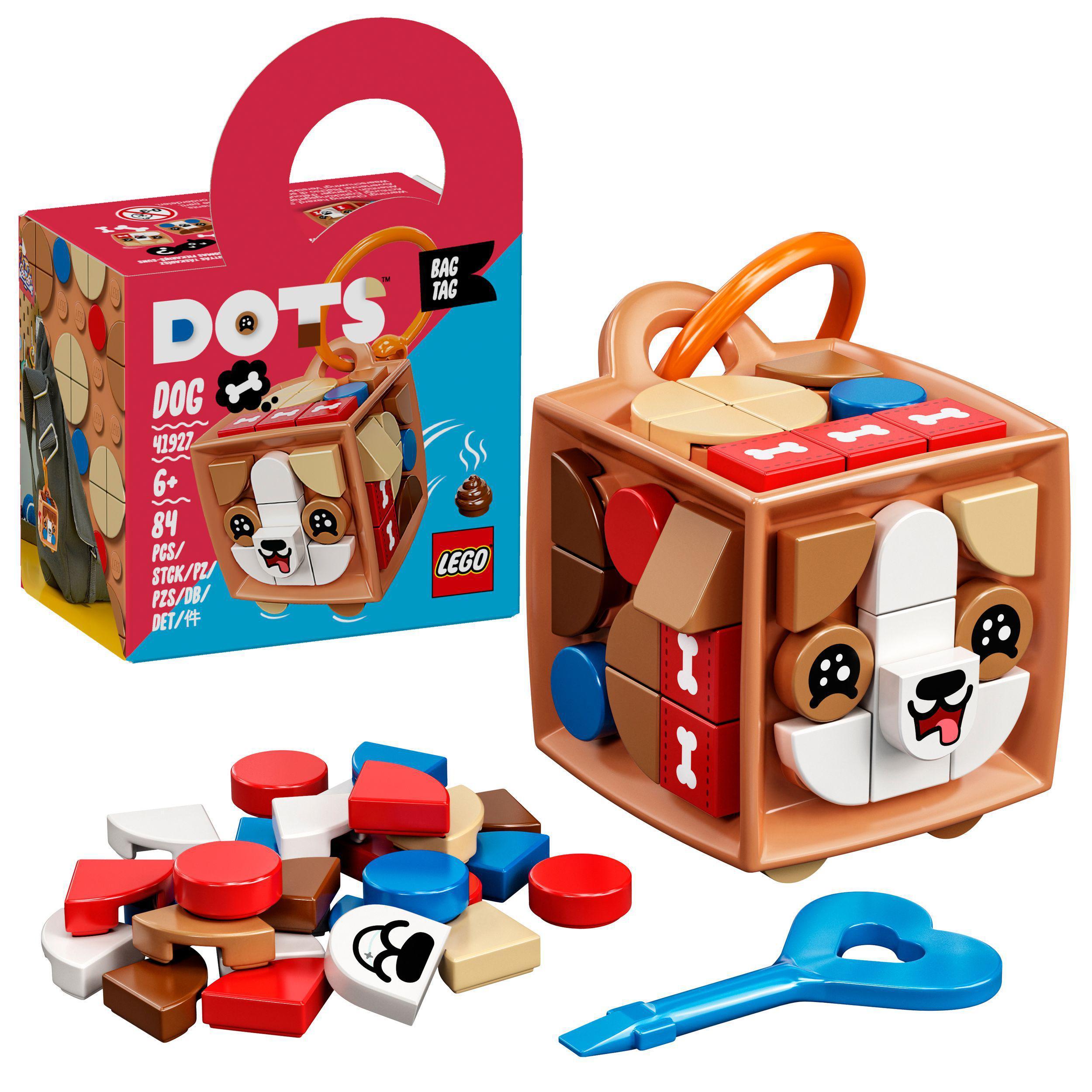 LEGO DOTS - Bag Tag Dog (41927)