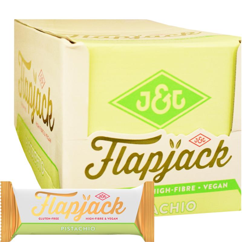 Flapjack Pistage 24-pack - 92% rabatt