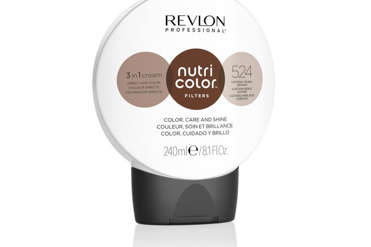 Revlon - Nutri Color Filters Toning 240 ml - 524 Coopery Pearl Brown