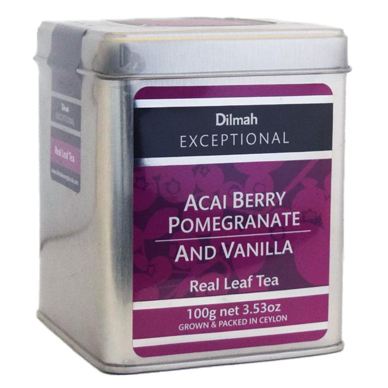 "Ceylonte ""Acai Berry, Pomegranate & Vanilla"" 100g - 64% rabatt"