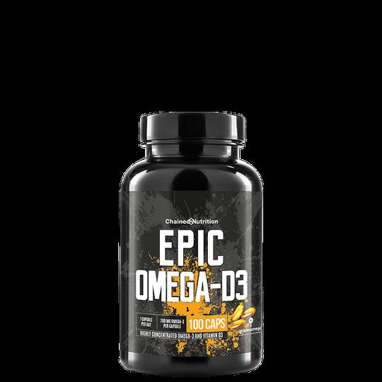Epic Omega-D3, 100 caps