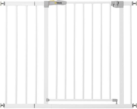 Hauck Stop N Safe Spennegrind inkl. 21 cm Forlengning, White