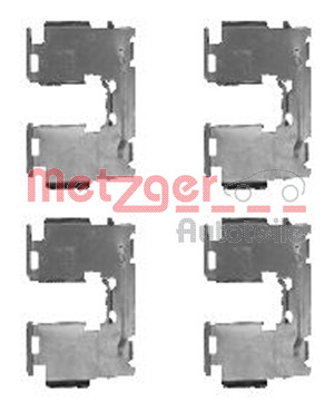 Tarvikesarja, jarrupala METZGER 109-1760