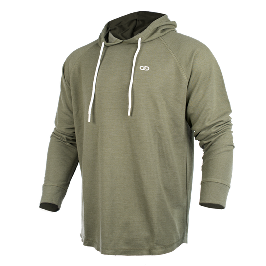 Chained l Hood, Olive