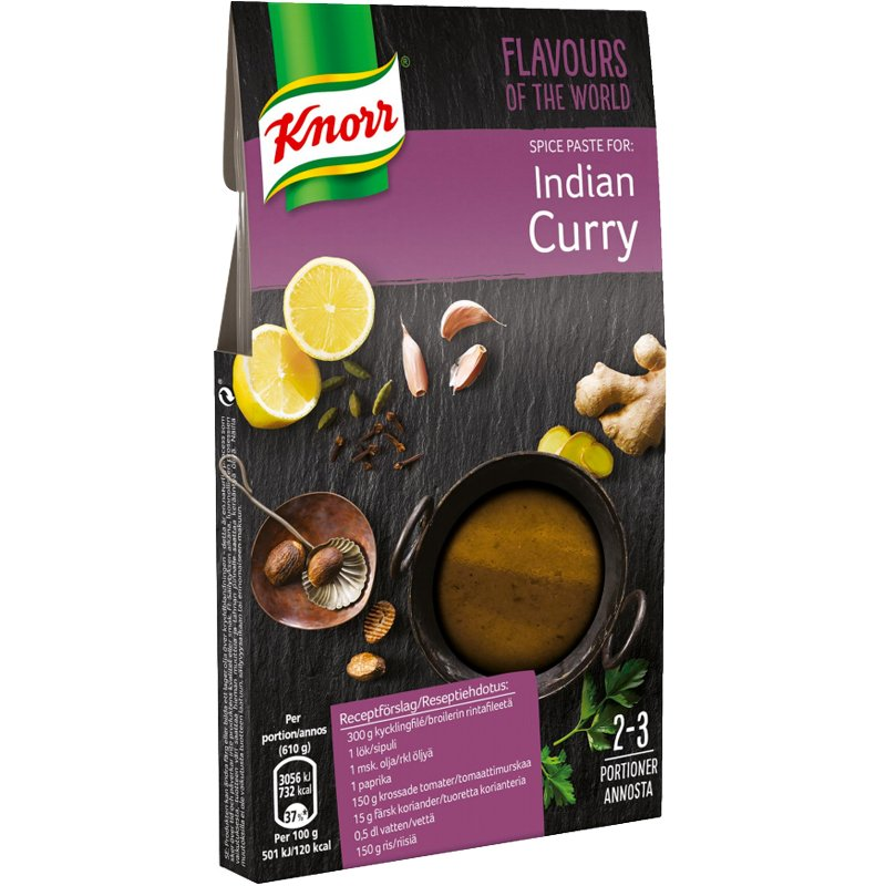 "Maustetahna ""Indian Curry"" 71g - 75% alennus"