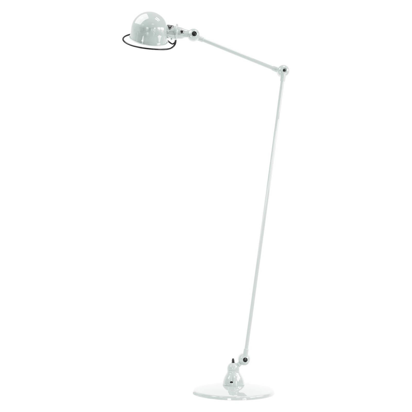 Jieldé Loft D1240 gulvlampe med leddarm, hvit