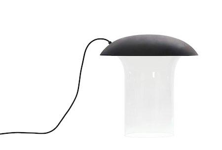 Bordlampe Leiju L – Grafittgrå