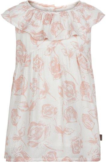 Creamie Roses Bluse, Cloud 110