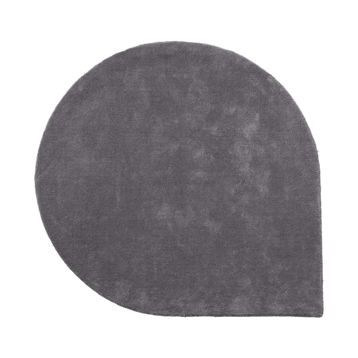 Droppformad matta STILLA grey large, AYTM