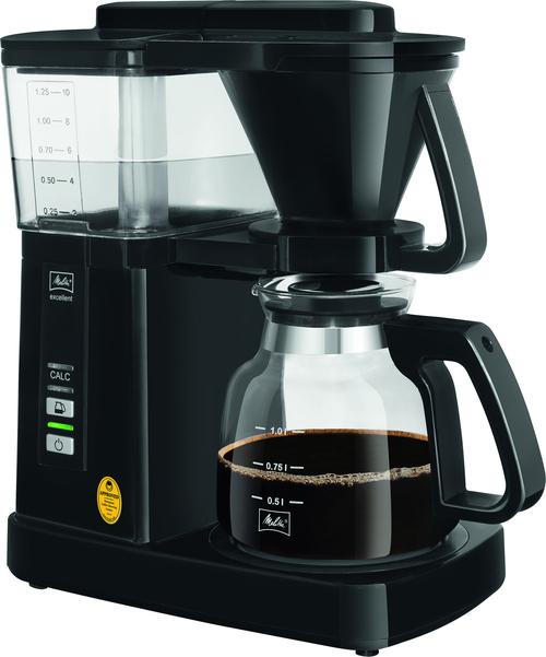 Melitta Excellent 5.0 Black Kaffebryggare - Svart