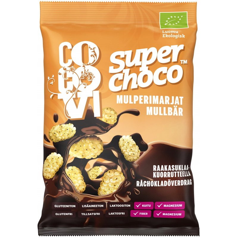 """Eko Mullbär """"Choco"""" 60g - 67% rabatt"""