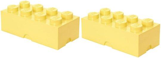 LEGO oppbevaring Pakke Stor 2p, Gul
