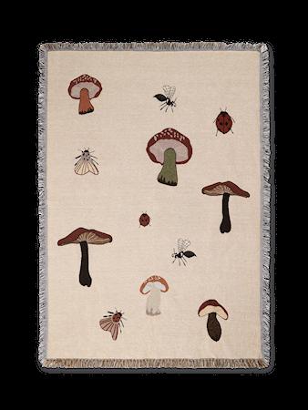 Forest Tapestry Pläd- Sand