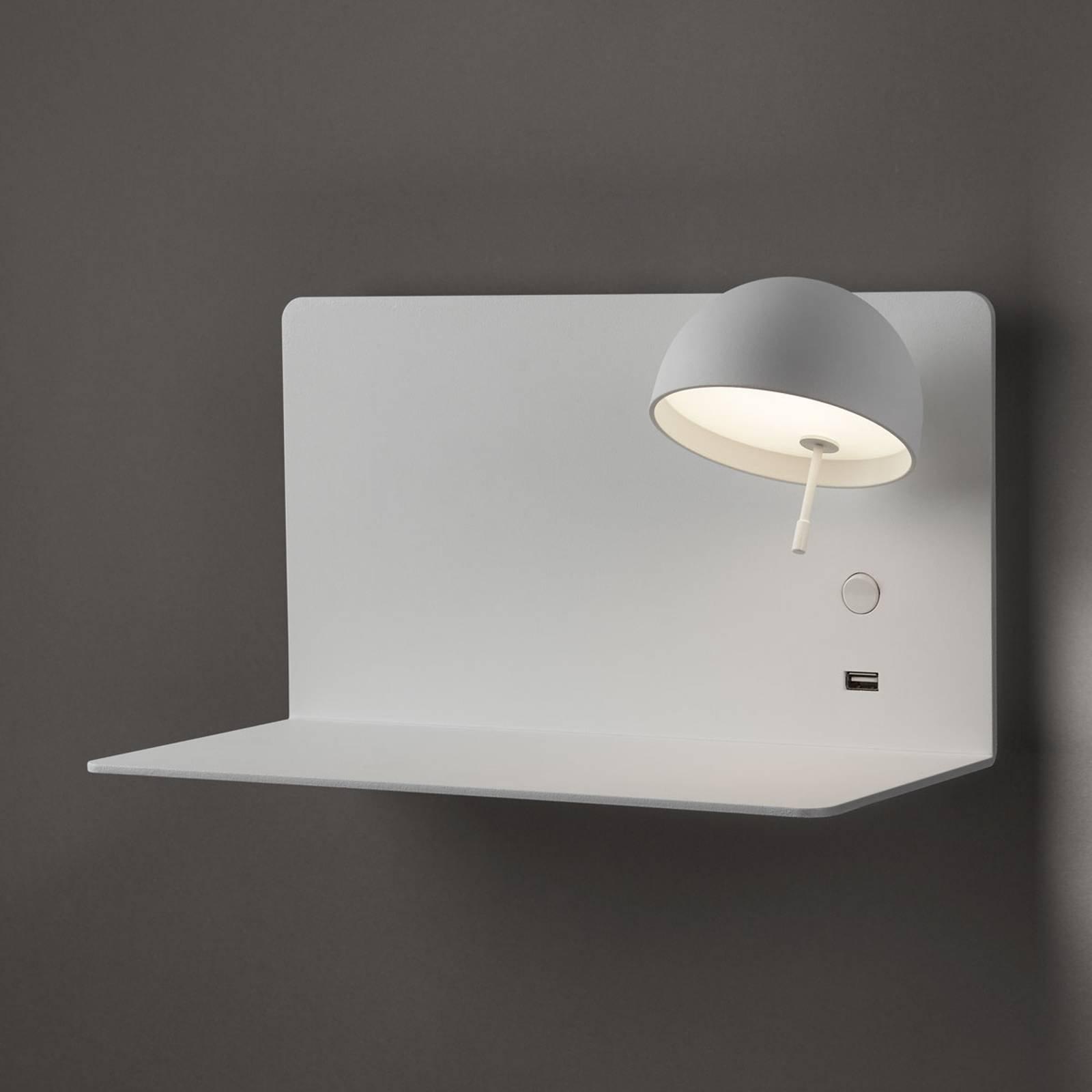 Bover Beddy A/03 LED-taklampe hvit spot høyre
