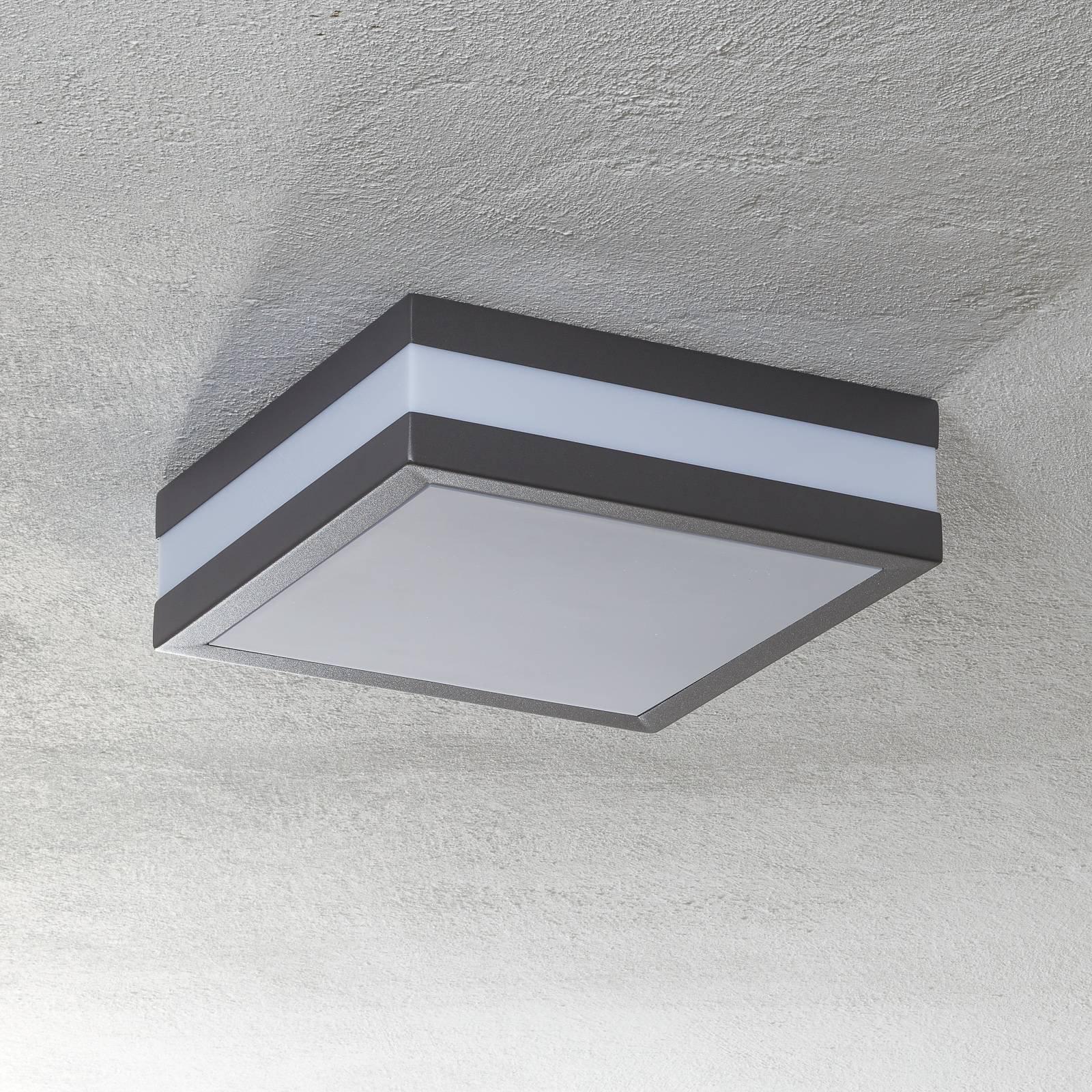 Matteo utendørs taklampe, 2 x E27, IP44