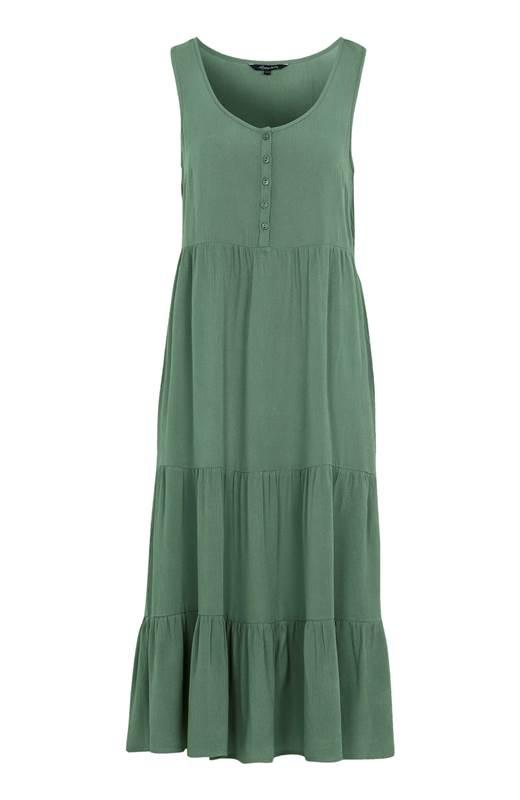 Happy Holly Krinklad klänning Layla Grön