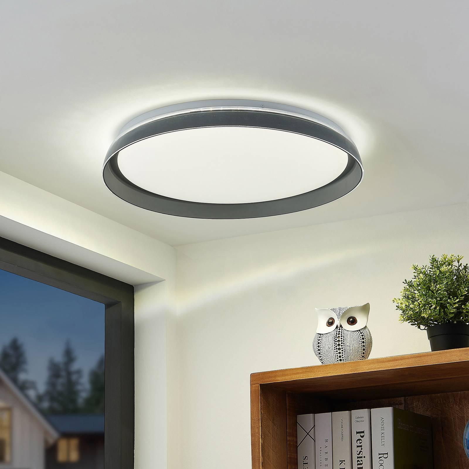 Lindby Kuvan -LED-kattovalaisin, CCT, himmennys