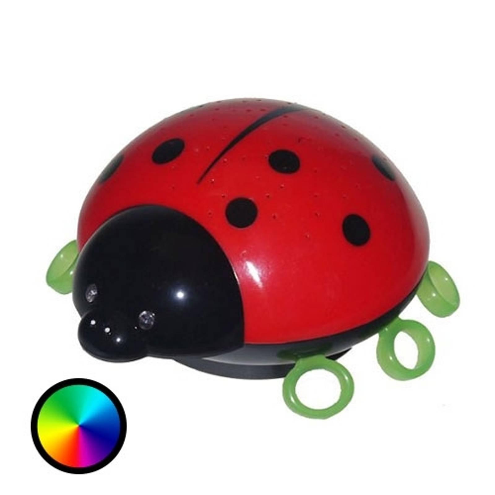 Tähtitaivas LED-yövalolla Beetlestar