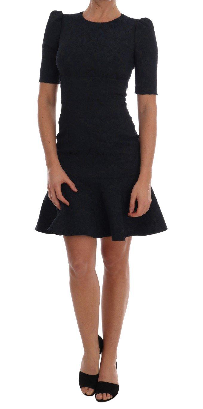 Dolce & Gabbana Women's Flare Mini Dress Black DR1359 - IT36 | XS