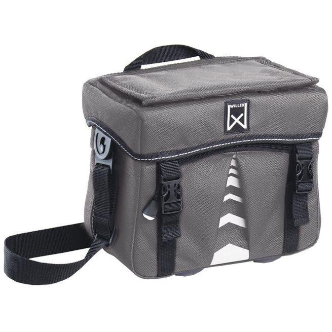 vidaXL Väska för cykelstyre 1200 7 liter antracit