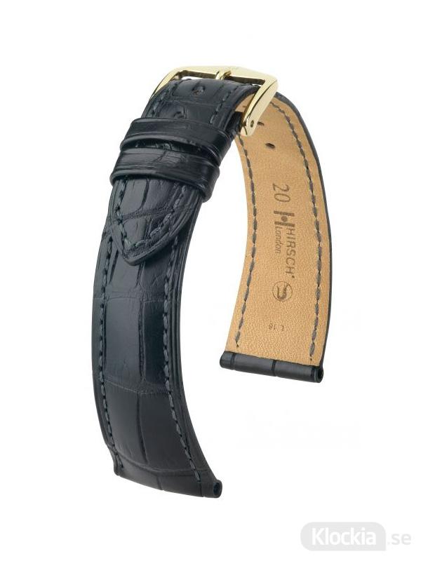 Hirsch London 14mm Medium Svart/Guld 04207159-1-14