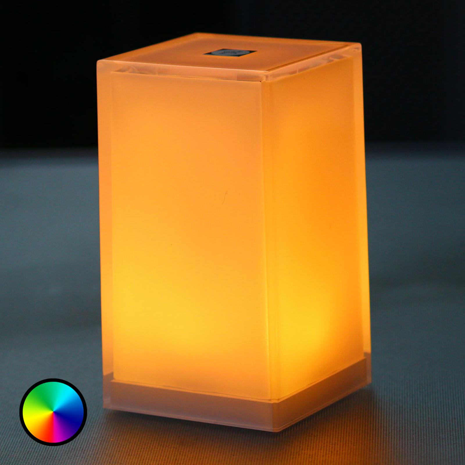 Cub-pöytävalaisin, 6 kpl, sovellusohjaus, RGBW