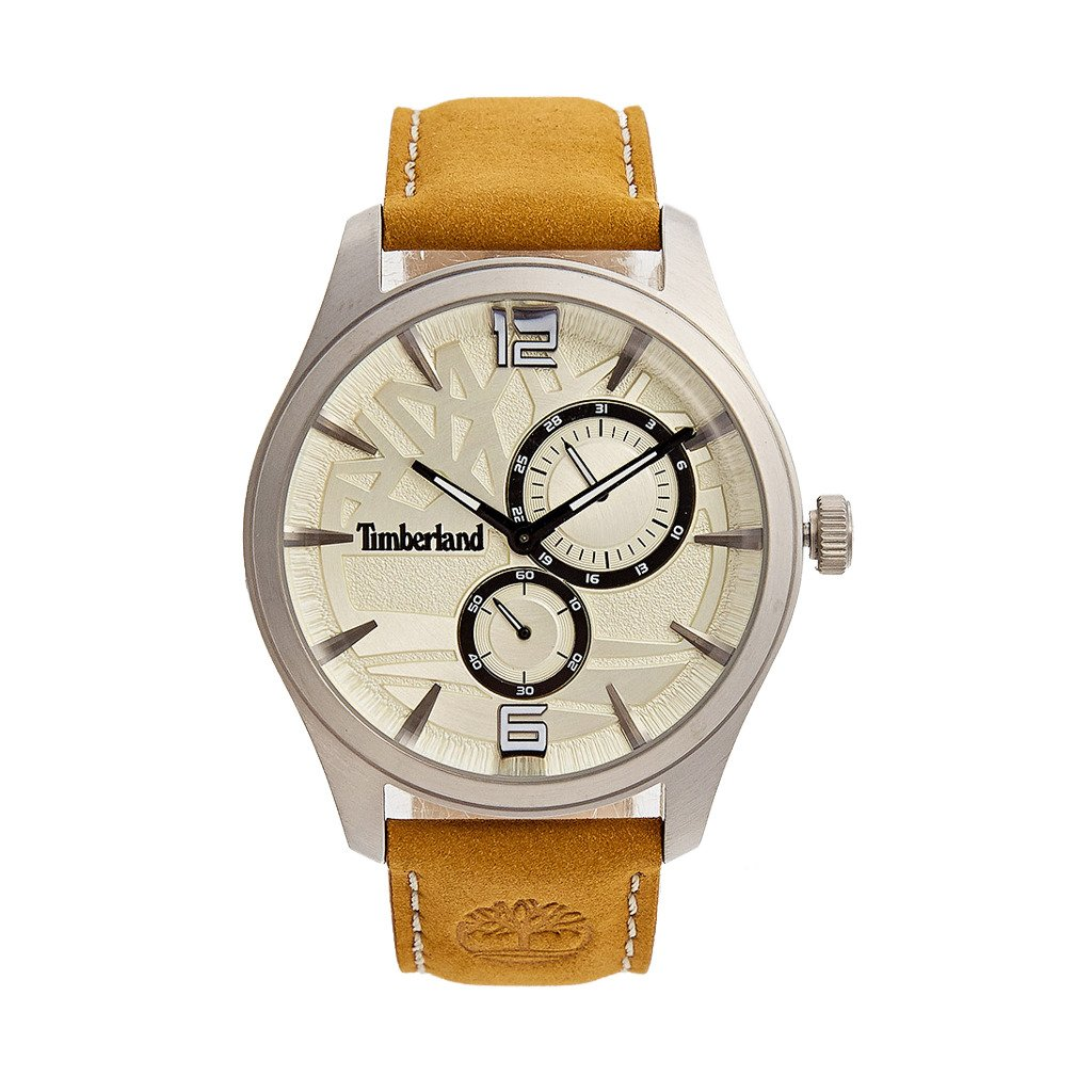Timberland Men's Watch Brown 15639JS - brown NOSIZE
