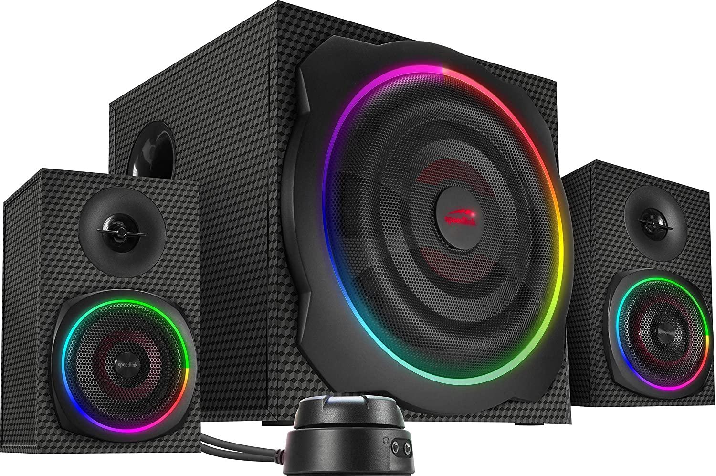 Speedlink - GRAVITY CARBON RGB 2.1 Speaker System
