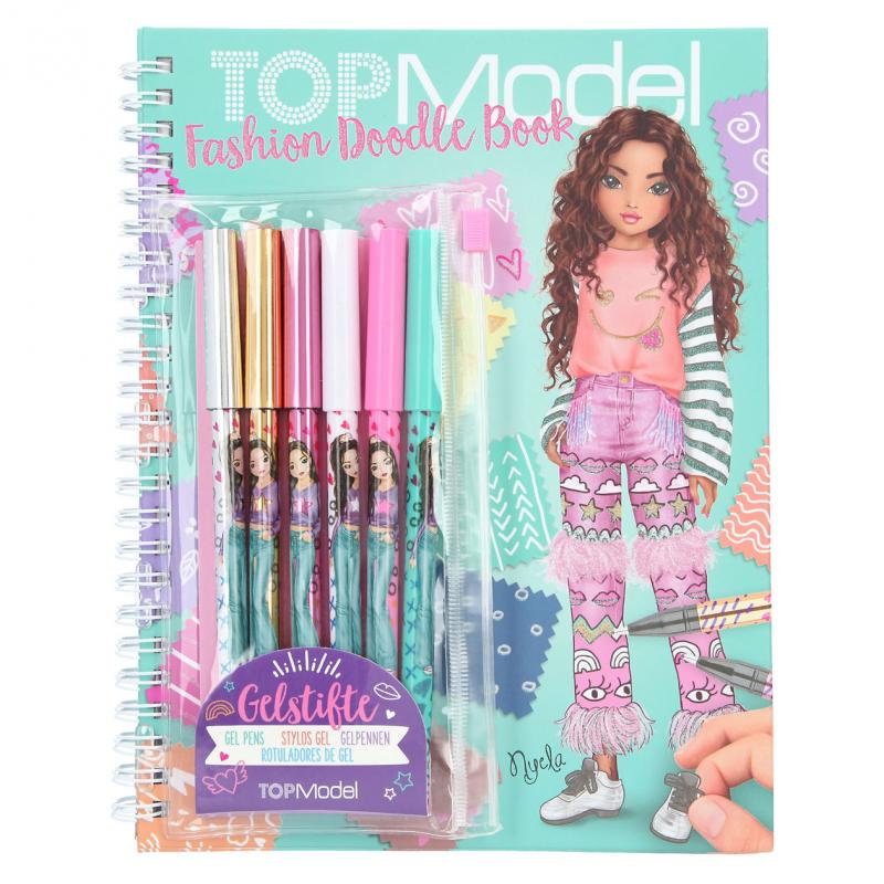 TOPModel - Fashion Doodle Design book w/gelpens (046952)