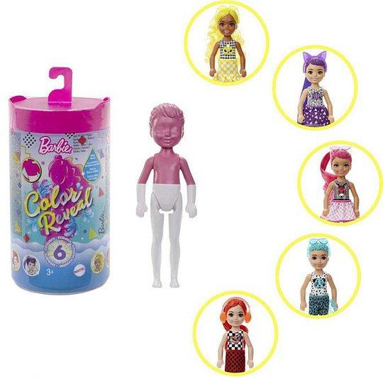 Barbie Color Reveal Dukke Chelsea Mono Mix Asst.