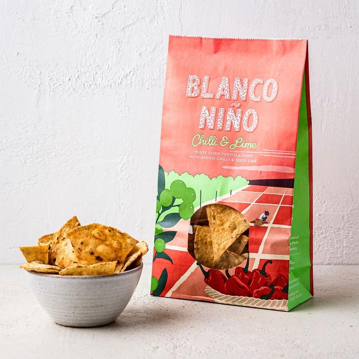 Blanco Nino Chilli and Lime Tortilla chips 170g