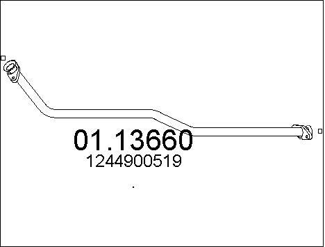 Pakoputki MTS 01.13660