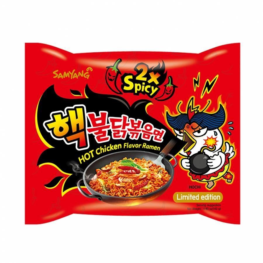 Samyang Hot Chicken Flavor Ramen 2xSpicy 140g