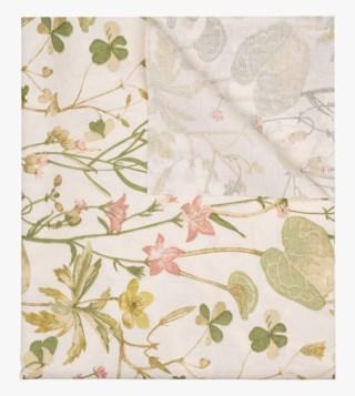 Eden pintakäsitelty pöytäliina vaalean beige