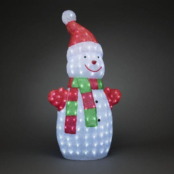 Konstsmide 6285-203 Koristevalaisin lumiukko, 90 cm