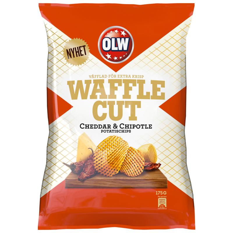 Chips Cheddar & Chipotle 175g - 50% rabatt