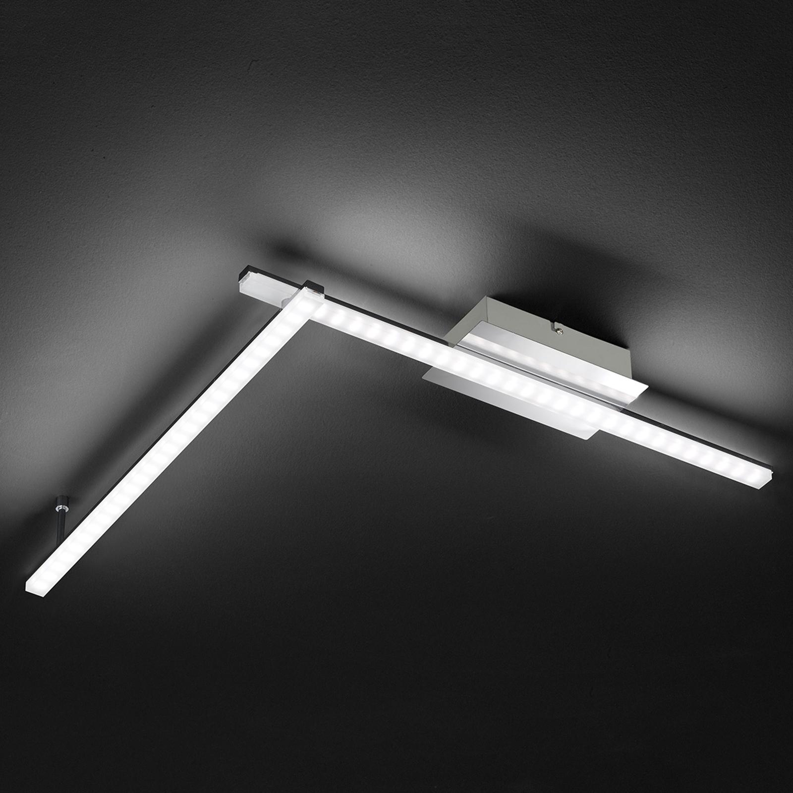 Moderni LED-kattovalaisin Clay