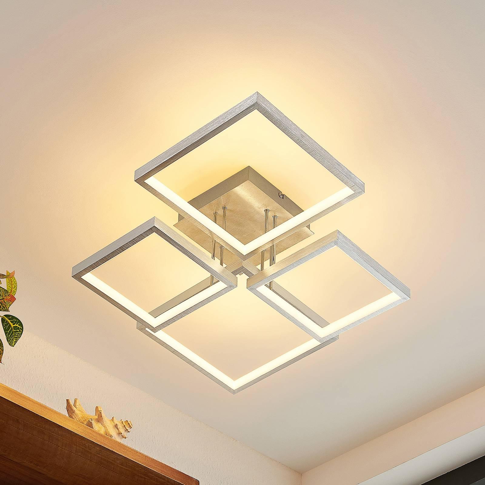 Lindby Adritha -LED-kattovalaisin nelilamppuinen