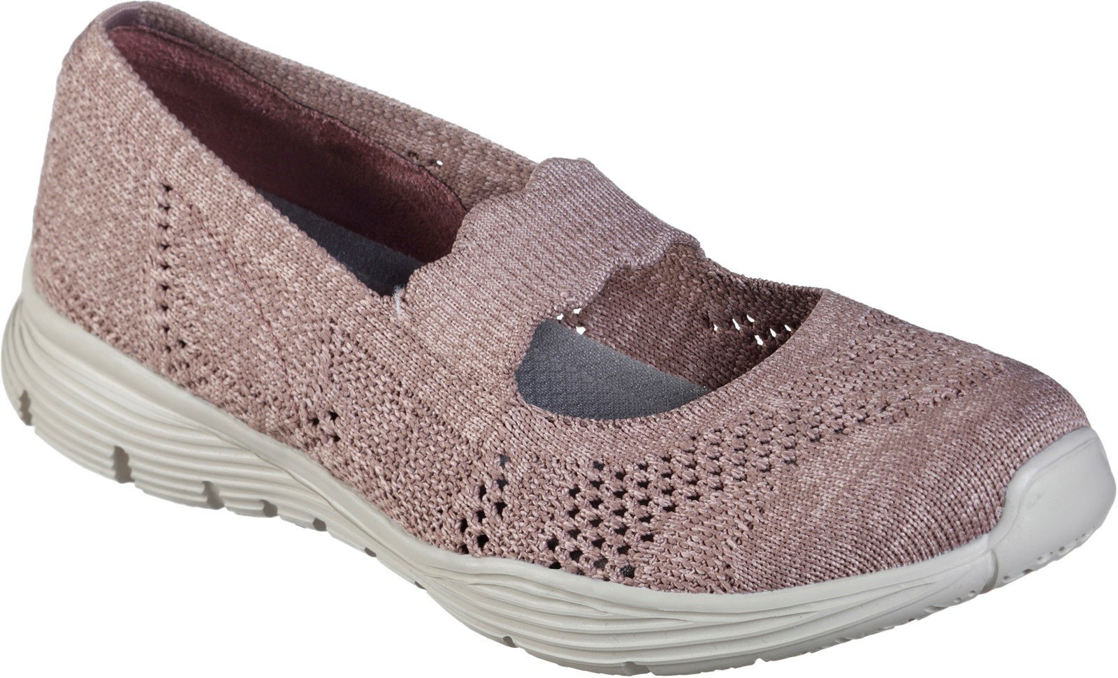Skechers Women's Seager Pitch Out Slip On Loafer Burgundy 32126 - Burgundy 3