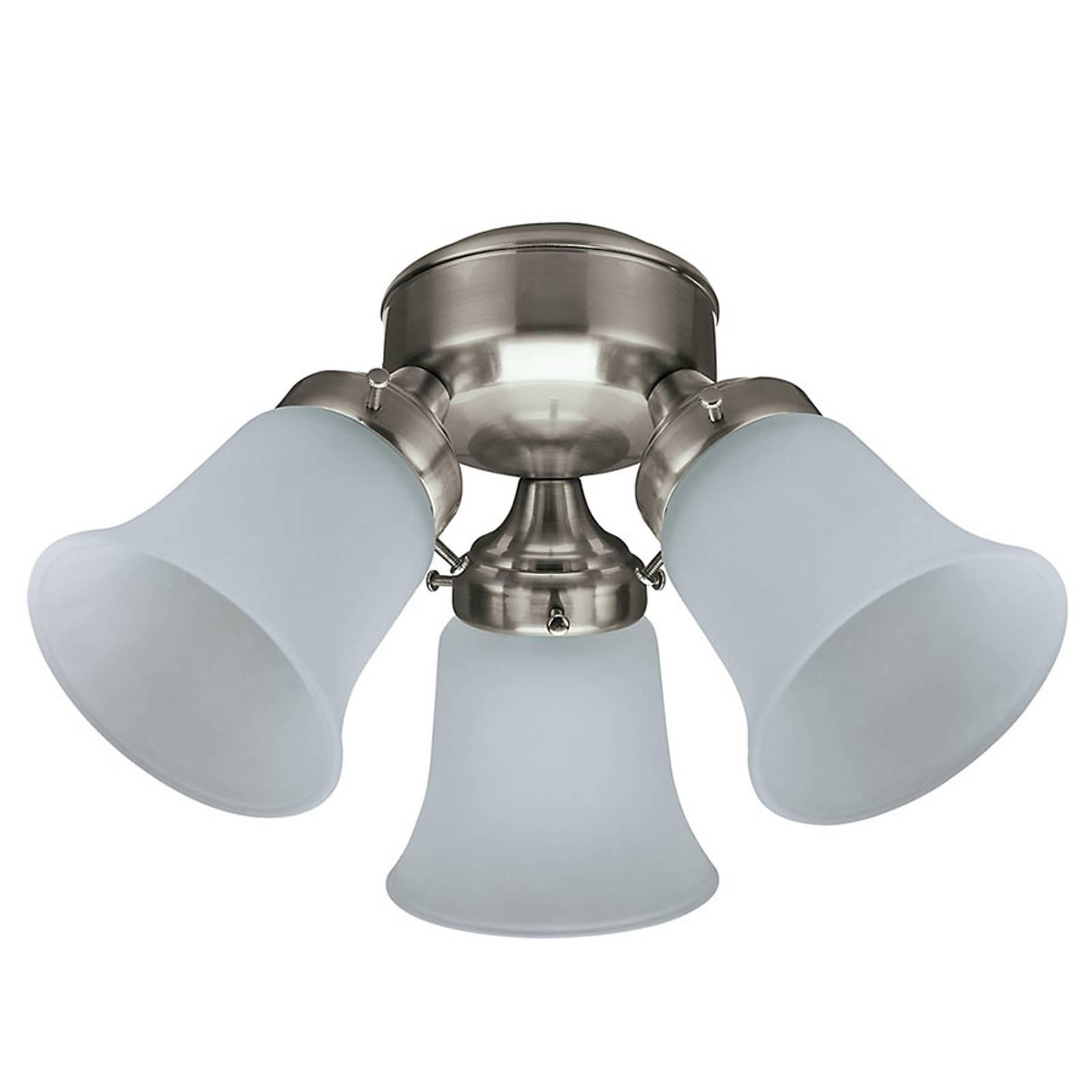 Hunter-kattotuuletinten lamppu, nikkeli