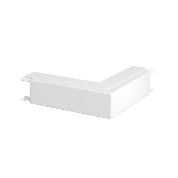 Obo Bettermann 6249086 Ulkokulma sähkösinkitty, valkoinen 40 x 40 mm
