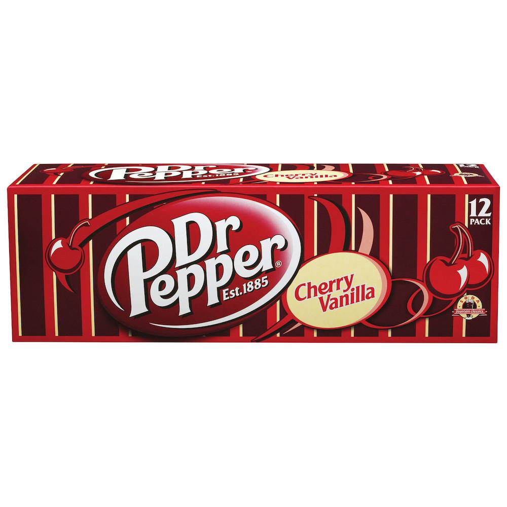 Dr Pepper Cherry Vanilla 12-Pack