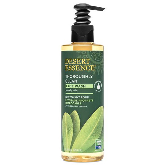 Desert Essence Thoroughly Clean Face Wash, 250 ml