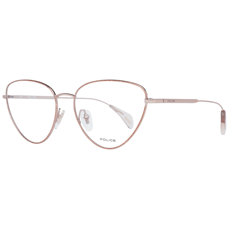 Police Women's Optical Frames Eyewear Orange PL927 550SA9
