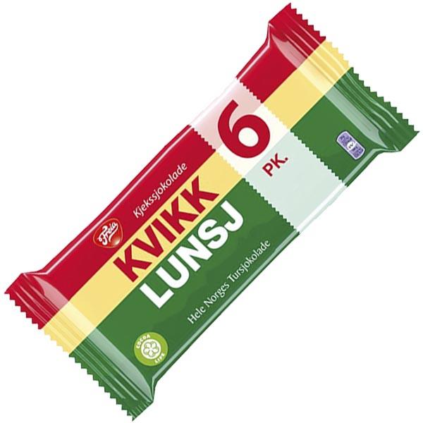 Kvikk Lunsj 6-pack - 282 g