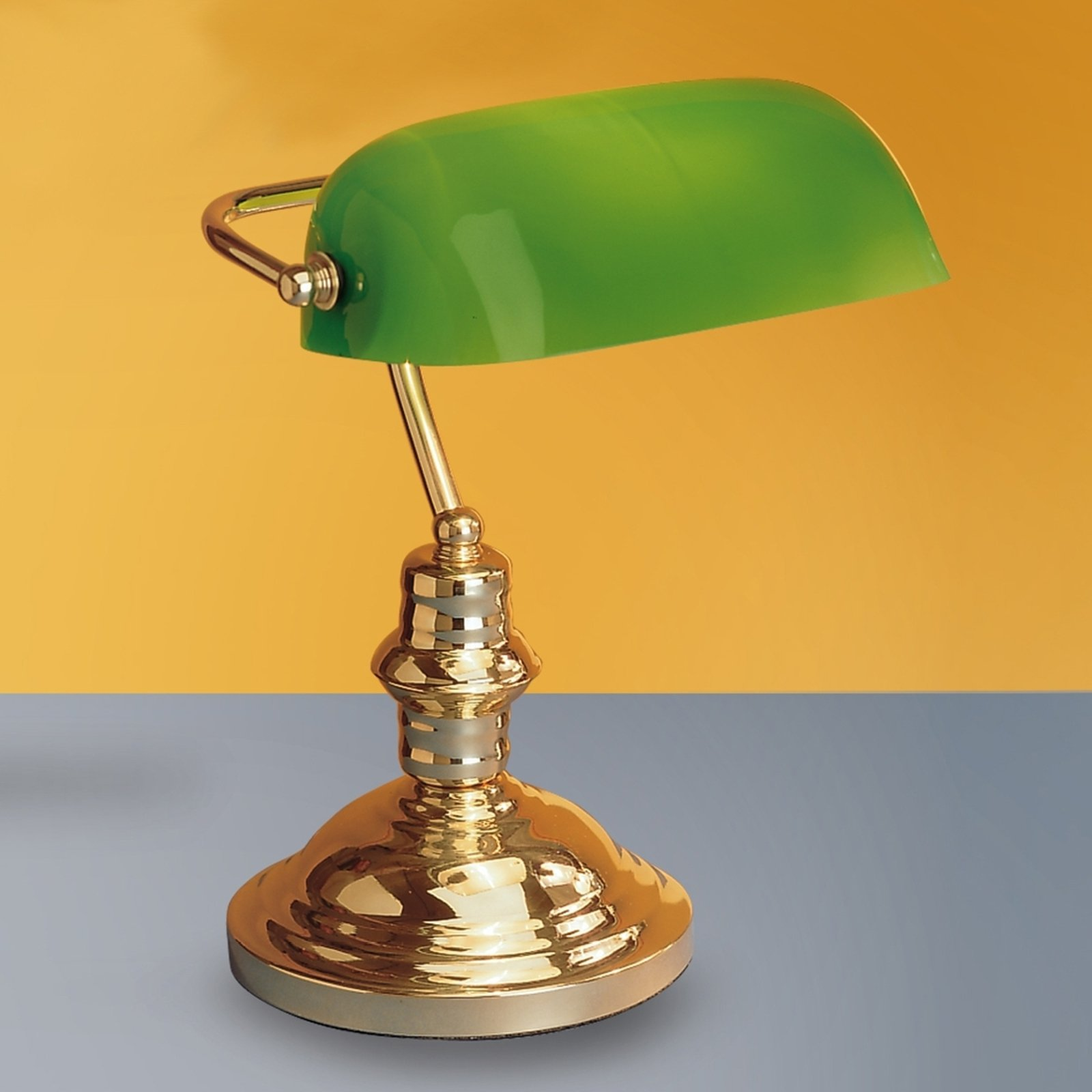 Vakker Onella bordlampe grønn