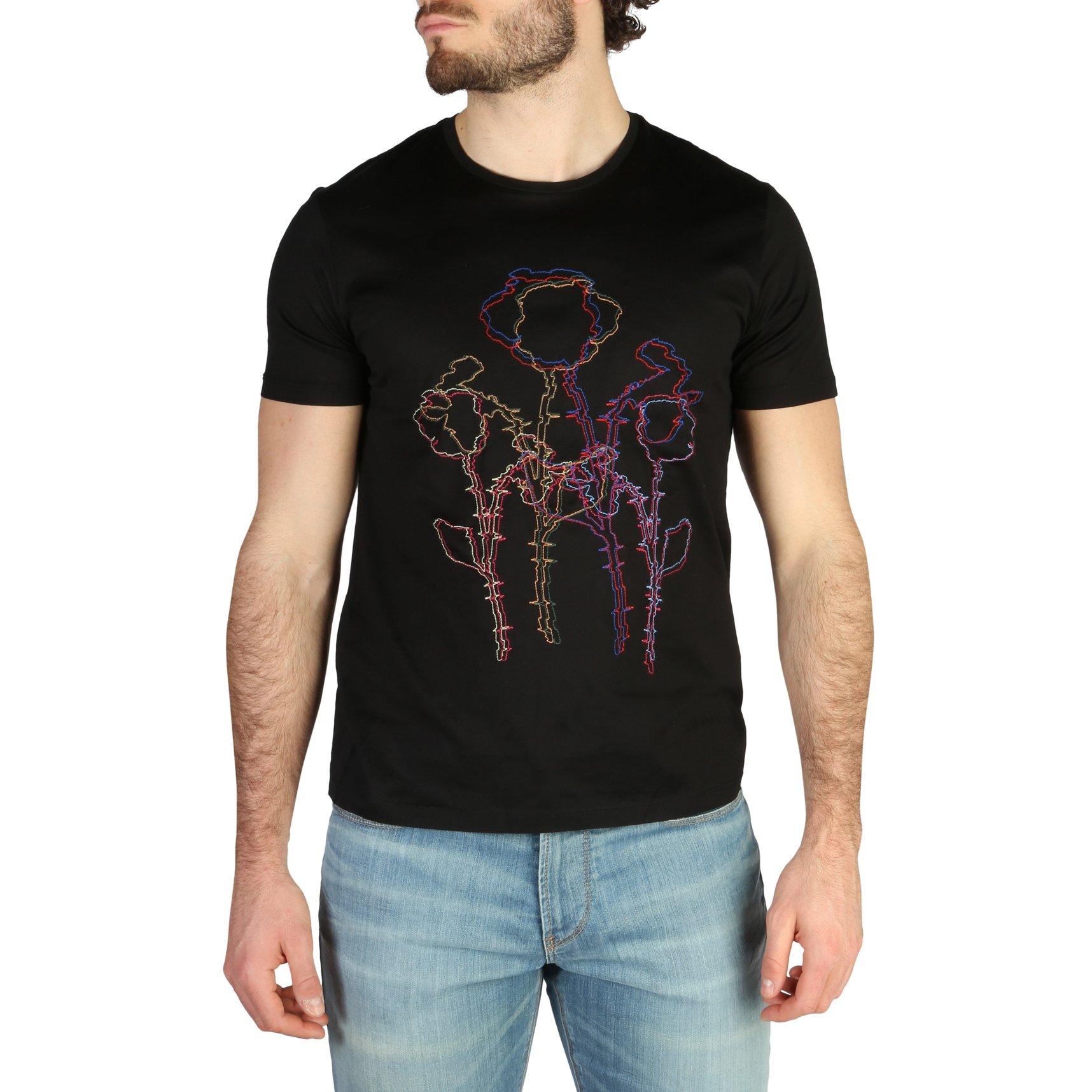 Emporio Armani Men's T-Shirt Various Colours 3Z1T6R1JQ3Z0 - black XS