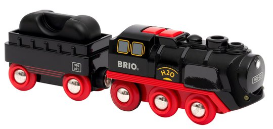 BRIO 33884 Batteridrevet damptog