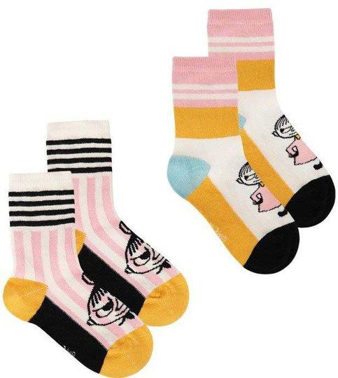Moomin Lille My Sokker 2-pack, Hvit, 23-26
