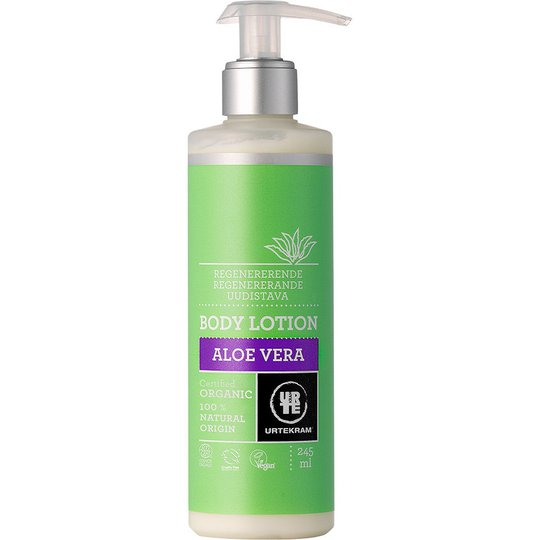 Aloe Vera, 245 ml Urtekram Vartaloemulsiot